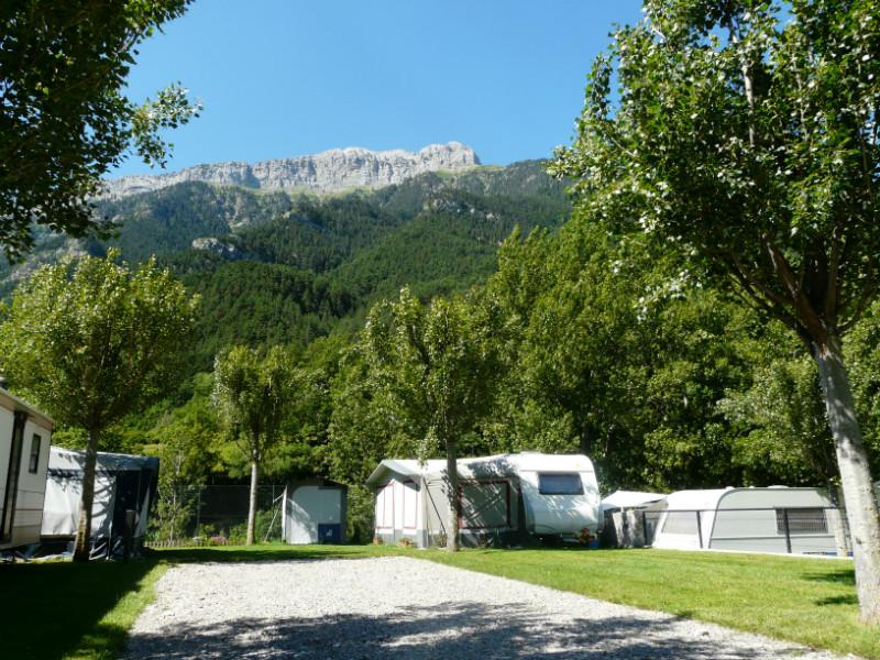 camping en bielsa